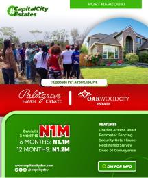 Mixed   Use Land Land for sale Oakwood City Estate Opposite International Airport Ipo PH  Port Harcourt Rivers