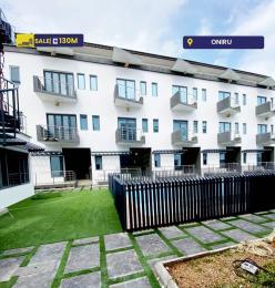 4 bedroom Terraced Duplex House for sale Z ONIRU Victoria Island Lagos