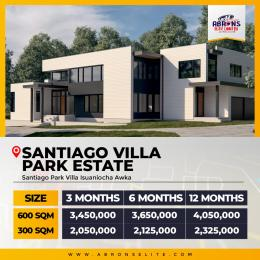 Serviced Residential Land Land for sale Santiago park villa estate isuaniocha awka, Anambra State.  Awka South Anambra