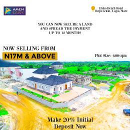 Serviced Residential Land Land for sale Amen Estate phase 2 Eleko Ibeju-Lekki Lagos