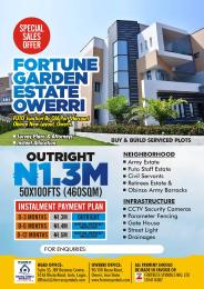 Serviced Residential Land for sale Fortune Garden Estate Owerri, Imo State Owerri Imo