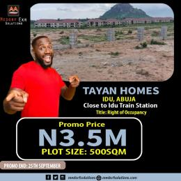 Serviced Residential Land Land for sale  Idu Abuja