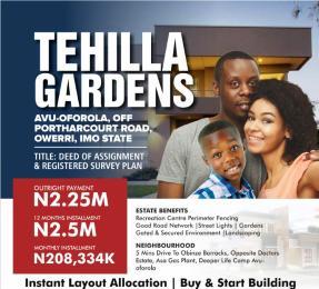Residential Land Land for sale Avu oforola oweri Owerri Imo