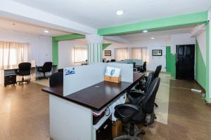 Workstation Co working space for rent 3/9 Olu-koleosho Street, Off Medical Road. Obafemi Awolowo Way Ikeja Lagos