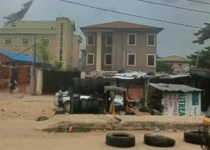 3 bedroom Blocks of Flats House for sale Ago palace Okota Lagos