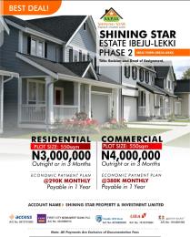 Commercial Land for sale Ibeju Town Ibeju-Lekki Lagos