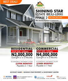 Residential Land for sale Ibeju Town Ibeju-Lekki Lagos