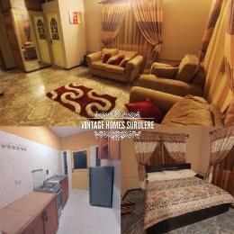 3 bedroom Flat / Apartment for shortlet AKINHANMI STREET Western Avenue Surulere Lagos