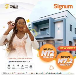 Residential Land Land for sale Amen estate 1&2 Eleko Ibeju-Lekki Lagos