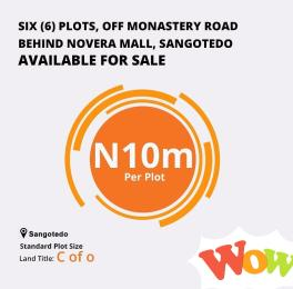 Mixed   Use Land Land for sale Behind Novare , ShopRite, Sangotedo Monastery road Sangotedo Lagos