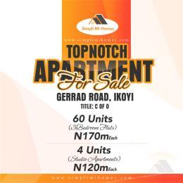 3 bedroom Self Contain Flat / Apartment for sale Gerad road ikoyi Lagos Gerard road Ikoyi Lagos