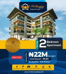 2 bedroom Massionette House for sale Halleyvine residence Sangotedo Ajah Lagos