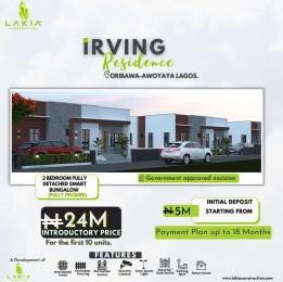 3 bedroom Detached Bungalow House for sale Oribanwa, 5 Minutes From Mayfair Gardens Awoyaya Ajah Lagos