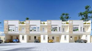 4 bedroom Terraced Duplex House for sale Lekki County Homes Ikota Lekki Lagos