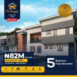 5 bedroom Detached Duplex House for sale Halleyvine Sangotedo Ajah Lagos