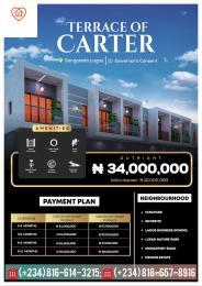 3 bedroom Terraced Duplex for sale Terrace Of Carter, Ajayi Apata Estate Sangotedo Lagos