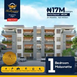 1 bedroom mini flat  Massionette House for sale Halleyvine residence Sangotedo Ajah Lagos