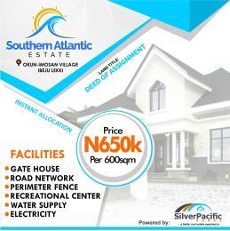 Residential Land Land for sale Southern Atlantic estate Ibeju-Lekki Lagos