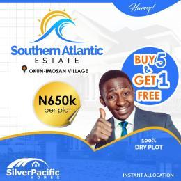 Mixed   Use Land Land for sale Southern Atlantic Estate, Okun - lmosan village, ibeju -lekki Ibeju-Lekki Lagos