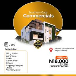Hotel/Guest House Commercial Property for sale Directly facing the Lekki Free Trade Zone expressway Oshoroko Ibeju Lekki Lagos. Free Trade Zone Ibeju-Lekki Lagos