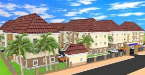 2 bedroom Blocks of Flats House for sale gudu nepa junction Apo Abuja