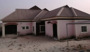 3 bedroom Detached Bungalow House for rent Nissi Village Kachia Kaduna