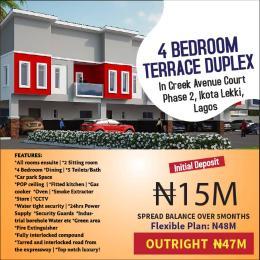4 bedroom Terraced Duplex House for sale Ikota,Lekki,Lagos  Ikota Lekki Lagos