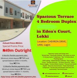 4 bedroom Terraced Duplex House for sale Chevron Alternative Drive. chevron Lekki Lagos