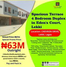 4 bedroom Terraced Duplex House for sale Widens Court, Shevron Drive, Lekki, Lagos State. chevron Lekki Lagos