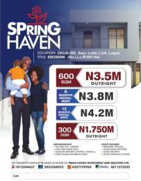 Serviced Residential Land Land for sale Oribanwa Ibeju-Lekki Lagos