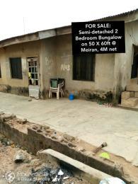 Detached Bungalow House for sale Meiran Ipaja Lagos