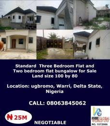 House for sale Ugbromo Warri Delta state Nigeria Warri Delta