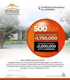 Residential Land for sale 8 Mins Drive From Atan Junction Agbara Agbara-Igbesa Ogun