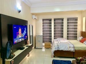 1 bedroom mini flat  Studio Apartment Flat / Apartment for shortlet 14 rafiat anike tinubu close oniru besides Ebano supermarket lekki phase 1 Lekki Phase 1 Lekki Lagos