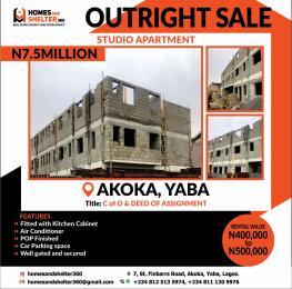 1 bedroom mini flat  Self Contain Flat / Apartment for sale Akoka Yaba Lagos