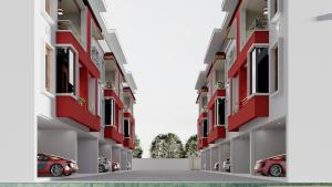 5 bedroom Terraced Duplex House for sale Ikate Elegushi, Meadow Hall Way, Beside Richmond Estate, Bella Court Phase 2 Lekki Phase 1 Lekki Lagos