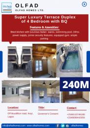 5 bedroom Terraced Duplex House for sale Off Bourdillion road, Ikoyi Bourdillon Ikoyi Lagos