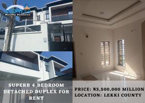 4 bedroom Detached Duplex House for rent Lekki County Ikota Lekki Lagos