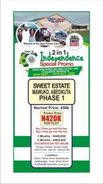 Residential Land Land for sale 1minute Drive From Funnab Mawuko Abeokuta Ogun