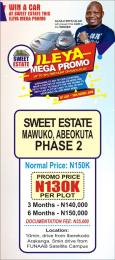 Residential Land Land for sale Mawuko after FUNAAB Mawuko Abeokuta Ogun