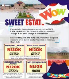 Residential Land Land for sale Along Ibadan Iseyin Express Way Moniya Ibadan Moniya Ibadan Oyo