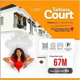 4 bedroom Semi Detached Duplex House for sale Ikota Villa Estate Lekki. Ikota Lekki Lagos