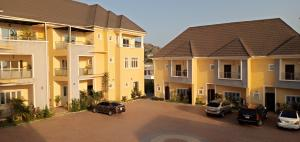 4 bedroom Terraced Duplex House for rent Directly Opposite Stella Maris College  Life Camp Abuja
