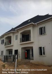2 bedroom Blocks of Flats House for rent A3/faith bible area  Akobo Ibadan Oyo