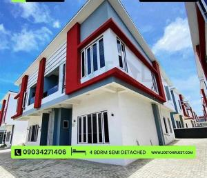 4 bedroom Semi Detached Duplex House for rent Just after Ikota Lekki Lagos