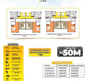 3 bedroom Semi Detached Duplex House for sale Ajiwe Ajah Lagos