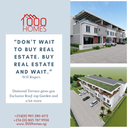 4 bedroom Terraced Duplex House for sale Diamond Estate Monastery road Sangotedo Lagos