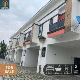 4 bedroom House for sale budo peninsula estate Ajah Lagos