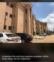 4 bedroom Flat / Apartment for sale Wuye-Abuja.  Wuye Abuja
