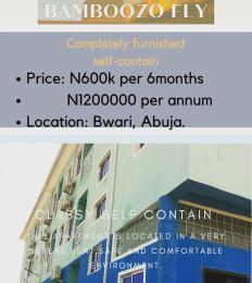 1 bedroom mini flat  Self Contain Flat / Apartment for rent Kurudu Abuja